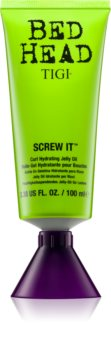 TIGI Bed Head Screw It aceite-gel hidratante para definir ondas