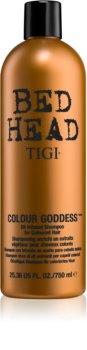 TIGI Bed Head Colour Goddess sampon pe baza de ulei pentru păr vopsit