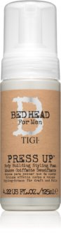 TIGI Bed Head B for Men Press Up crème-mousse coiffante fixation forte