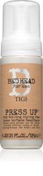 TIGI Bed Head B for Men Press Up kremowa pianka do stylizacji mocno utrwalający