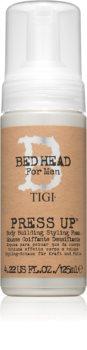 TIGI Bed Head B for Men Press Up spumă cremă pentru coafare fixare puternică