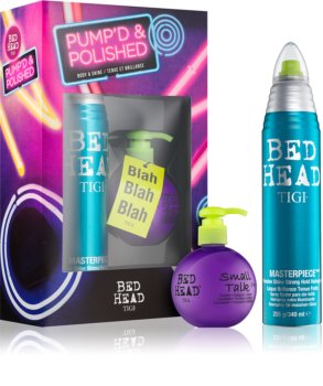TIGI Bed Head Pump'd and Polished Gift Set III. (for All Hair Types) for Women