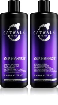TIGI Catwalk Your Highness formato ahorro VIII. (para cabello fino) para mujer