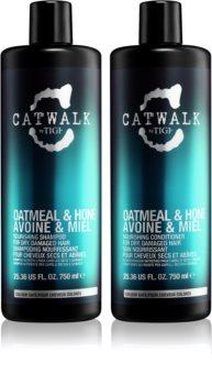 TIGI Catwalk Oatmeal & Honey ambalaj economic I. (pentru par deteriorat) pentru femei