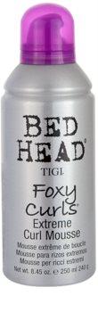 TIGI Bed Head Foxy Curls espuma fijadora para cabello ondulado