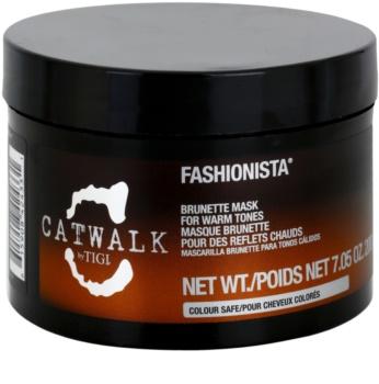 TIGI Catwalk Fashionista mascarilla para tonos cálidos de cabello castaño