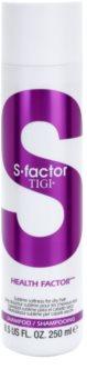 TIGI S-Factor Health Factor šampon pro suché, poškozené a chemicky ošetřené vlasy