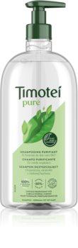 Timotei Pure Green Tea почистващ шампоан за нормална към омазняваща се коса