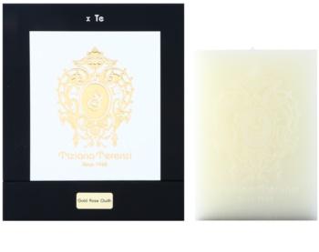Tiziana Terenzi Gold Gold Rose Oudh mirisna svijeća 10 cm