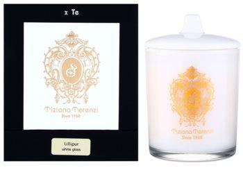 Tiziana Terenzi Gold Lillipur vela perfumada pequeno com tampa