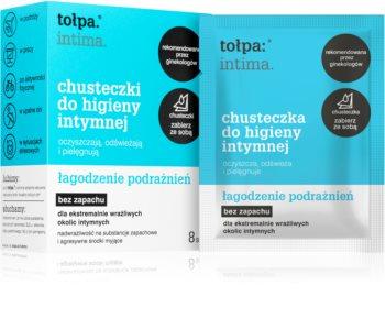Tołpa Dermo Intima salviette detergenti umidificate per le parti intime