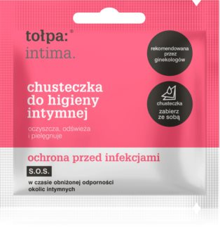 Tołpa Dermo Intima Gentle Cleansing Wipes for Intimate Parts