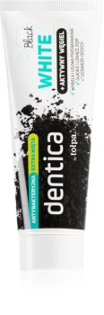 Tołpa Dentica Black White dentifrice blanchissant au charbon actif