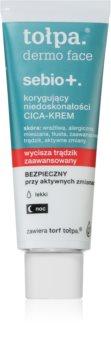 Tołpa Dermo Face Sebio + лек крем против несъвършенства на кожата