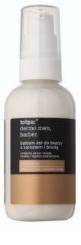 Tołpa Dermo Men Barber  bálsamo-gel calmante para homens com barbas