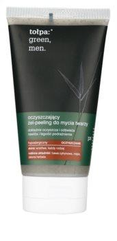 Tołpa Green Men gel exfoliant de curatare cu efect de hidratare