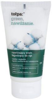 Tołpa Green Moisturizing creme de mãos suave com efeito hidratante