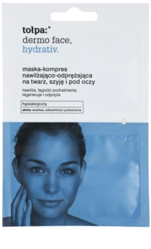 Tołpa Dermo Face Hydrativ máscara hidratante intensiva para rosto e contorno dos olhos