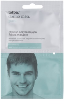 Tołpa Dermo Men Pure máscara de limpeza profunda com efeito matificante