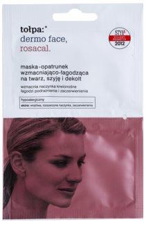 Tołpa Dermo Face Rosacal maschera lenitiva per pelli arrossate e irritate per viso, collo e décolleté