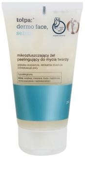 Tołpa Dermo Face Sebio gel detergente effetto scrub