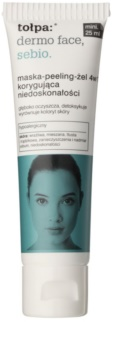 Tołpa Dermo Face Sebio 4in1 Gel Mask and Scrub For Skin With Imperfections