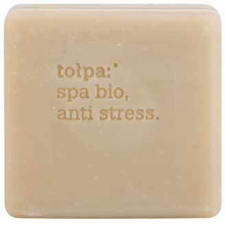 Tołpa Spa Bio Anti Stress sabonete detox com turfa