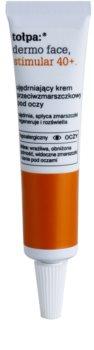 Tołpa Dermo Face Stimular 40+ creme contornos de olhos refirmante antirrugas e anti-olheiras