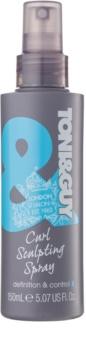 TONI&GUY Classic gel spray per capelli mossi