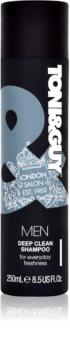 TONI&GUY Men globinsko čistilni šampon