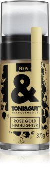 TONI&GUY Rose Gold Highlighter paillettes pour cheveux