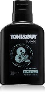 TONI&GUY Men mousse nettoyante visage et barbe