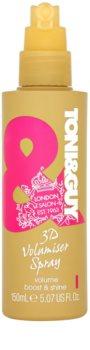 TONI&GUY Glamour spray paral cabello  para dar volumen y brillo