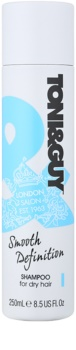 TONI&GUY Smooth Definition uhlazující šampon pro suché a nepoddajné vlasy