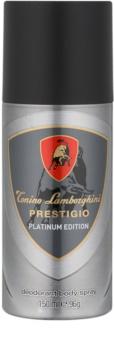 Tonino Lamborghini Prestigio Platinum Edition desodorante en spray para hombre