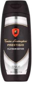 Tonino Lamborghini Prestigio Platinum Edition gel de ducha para hombre 200 ml