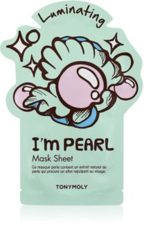 TONYMOLY I'm PEARL Brightening Face Sheet Mask