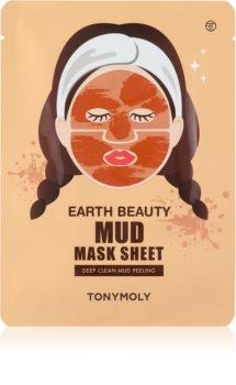 TONYMOLY Earth Beauty Mud Hámlasztó maszk