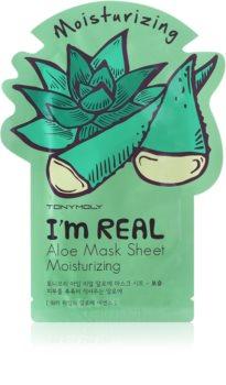 TONYMOLY I'm REAL Aloe mascheraviso idratante in tessuto