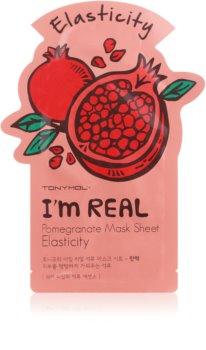 TONYMOLY I'm REAL Pomegranate plátýnková maska pro zpevnění