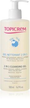 Topicrem BABY My 1st Cleansing Gel 2in1 gel detergente per corpo e capelli per neonati