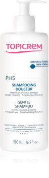 Topicrem PH5 Gentle Milk Shampoo shampoo delicato per uso quotidiano per cuoi capelluti sensibili