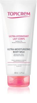 Topicrem UH BODY Ultra-Moisturizing Body Milk hloubkově hydratační tělové mléko pro suchou a citlivou pokožku