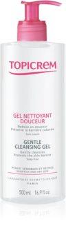 Topicrem UH BODY Gentle Cleansing Gel gel limpiador suave para cara, cuerpo y cabello
