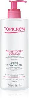 Topicrem UH BODY Gentle Cleansing Gel gyengéd tisztító gél arcra, testre és hajra