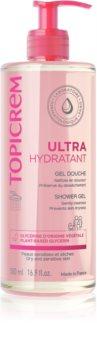 Topicrem UH BODY Gentle Cleansing Gel sanftes Reinigungsgel für Gesicht, Körper und Haare