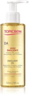 Topicrem AD Emollient Oil омекотяващо масло за суха към атопична кожа