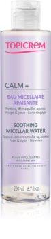Topicrem CALM+ Soothing Micellar Water beruhigendes Mizellenwasser  für Gesicht und Augen