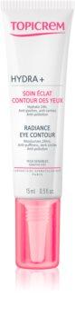 Topicrem UH FACE HYDRA+ Radiance Eye Contour aufhellende Crem für die Augenpartien gegen Augenringe