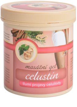 Topvet Celustin masážní gel tlumící projevy celulitidy